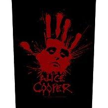 ALICE COOPER - Splatter Hand - Rückenaufnäher / Backpatch