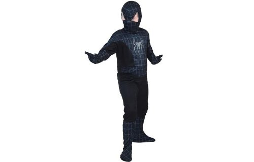 ider Hero Kostüm, schwarz, Medium (Weiblichen Superhelden-kostüme Für Kinder)
