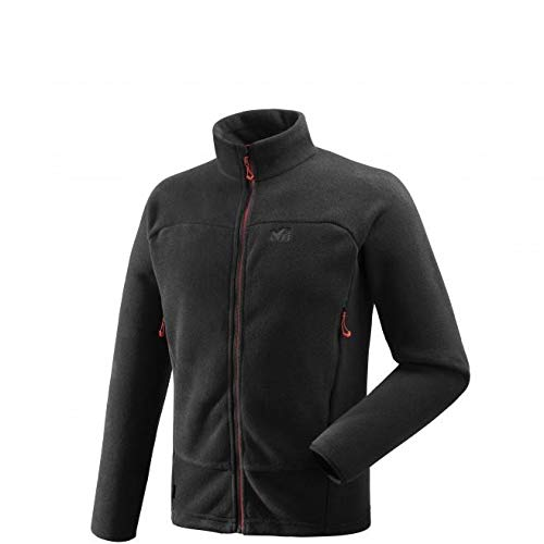 MILLET Wild Alps JKT M Polaire Homme, Black, FR : S (Taille Fabricant : S)