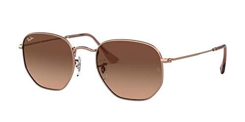 Ray-Ban Unisex-Erwachsene 0RB3548N Sonnenbrille, Braun (Copper), 50