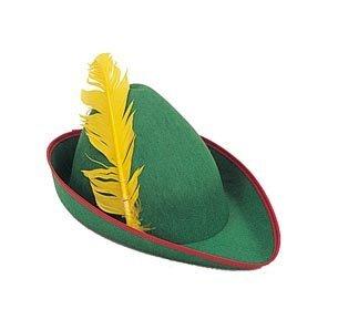 Hood Günstige Robin Kostüm - Hut Robin Hood, Grün