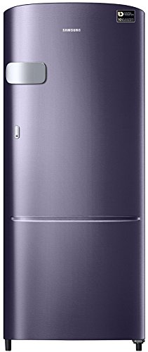 Samsung 192L 5 Star Direct Cool Single Door Refrigerator (RR20M1Y2XUT, Pebble Blue, Inverter Compressor)