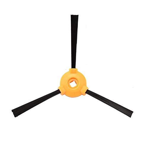 Amoy Kit d'accessoires de rechange 6 brosses latérales + 6 filtres HEPA + 6 éponges compatibles avec les aspirateurs Ecovacs Deebot 500 / 600 / 601 / 605