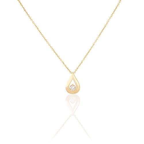 HISTOIRE D'OR - Collier Or et Diamant - Femme - Or jaune 375/1000