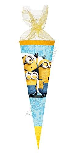 Nestler Schultüte Minions Zuckertüte Einschulung Schulanfang Schule Kinder: Größe: 22 cm