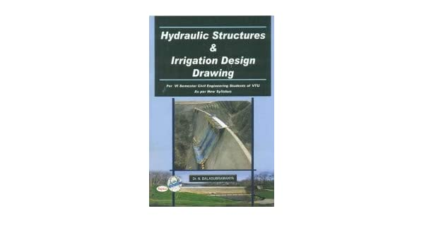 Amazonin Buy Hydraulic Structures Irrigation Design Drawing For