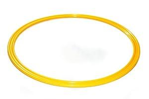 agility sport pour chiens - cerceau Ø 70 cm, jaune - 1x R70y