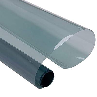 ddmlj 50Cmx200Cm Nano Céramique Film De Verre De Vitre De Voiture Teintée Solaire 100% UV 70% VLT Teinte De Fenêtre Auto-Adhésive Feuille Imperméable