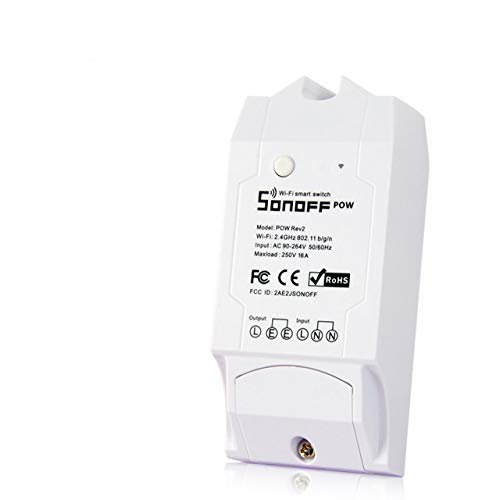 Sonoff Pow r2 WiFi Inalámbrico Interruptor ON/Off 16A Con Medición del Consumo