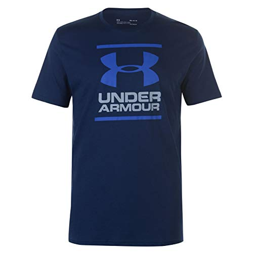 Under Armour Herren GL Foundation T-Shirt, Blau (Academy/Steel/Royal 408), S - Academy-herren T-shirt