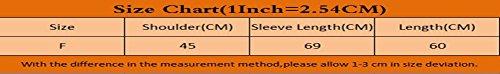 Dooxi Donna Autunno Colori Solidi Cardigan Manica Lunga Aria Condizionata Lungo Maglieria Giacca Nero