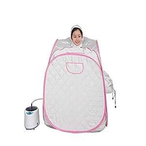 Wanforjewellery Faltender doppelter Leute-dämpfender Raum, beweglicher Fußbad-Whirlpool-Ganzkörper-Begasungsraum-beweglicher Zelt-Ausrüstungs-Detox