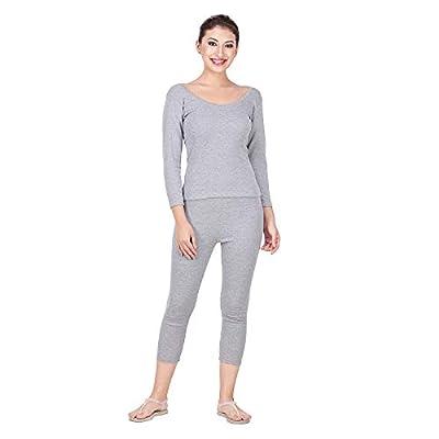 Splash Women's Stripe Thermal 3/4th Sleeves Upperwear Top
