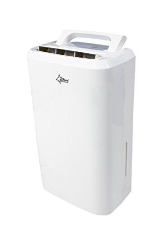 SUNTEC Luftentfeuchter DryFix 10 Pure [Für Räume bis 80 m³ (~34 m²), Entfeuchtungsleistung = 10 l/Tag, Luftreinigungsfunktion, inkl. Wäschetrocknung, 240 Watt]