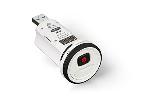 TomTom Ersatzbatterie Batt-Stick (Wasserdicht bis 50m, Vielseitiges Aufladen, Einfache Videoübertragung, Schnelle Akku Einlage) weiß