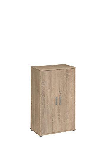 MAJA Möbel Magic 1596 Aktenschrank Sonoma-Eiche, Abmessungen (BxHxT): 69 x 111,20 x 40 cm, 69 x 40 x 111,20 cm