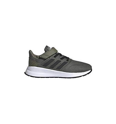 adidas RUNFALCON C, Zapatillas de Running Unisex Niños, Multicolor (Raw Khaki/Core Black/FTWR...