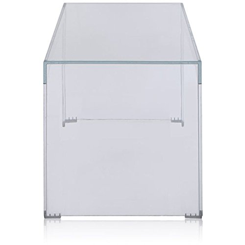 Consolle Invisible Kartell.Kartell Invisible 500 Consolle Trasparente 40 X 120 X 40 Cm