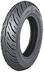 MRF Nylogrip Zapper 90/100-10 53J Tube-Type Scooter Tyre, Front or Rear (TYRE+TUBE)