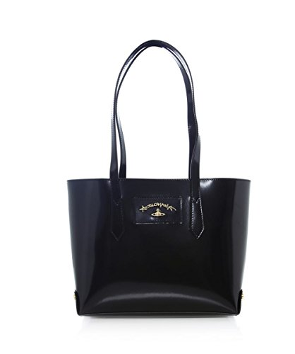 Vivienne Westwood Accessories Borsa Shopper media Newcastle Nero Unica Taglia