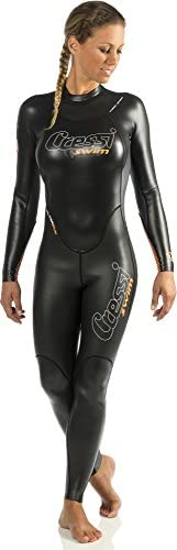 Cressi Lady Triton All-In-One Swim Wetsuit 1.5mm - Premium Neoprene Swimming Suit