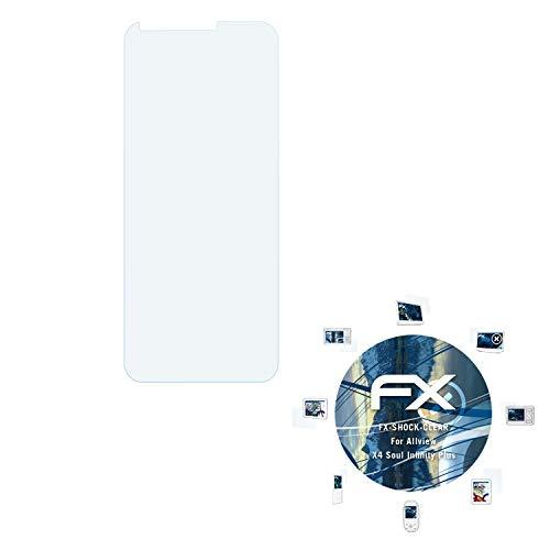 atFolix Schutzfolie kompatibel mit Allview X4 Soul Infinity Plus Panzerfolie, ultraklare & stoßdämpfende FX Folie (3X)