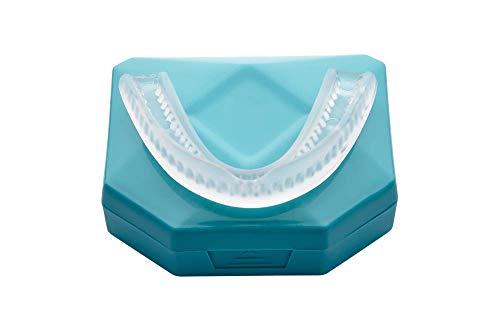 4 x Bite Dentale Notturno Automodellante Anti Bruxismo e Russamento Rimedio per Non russare Dispositivo per Smettere di russare, Respirare e Dormire Bene