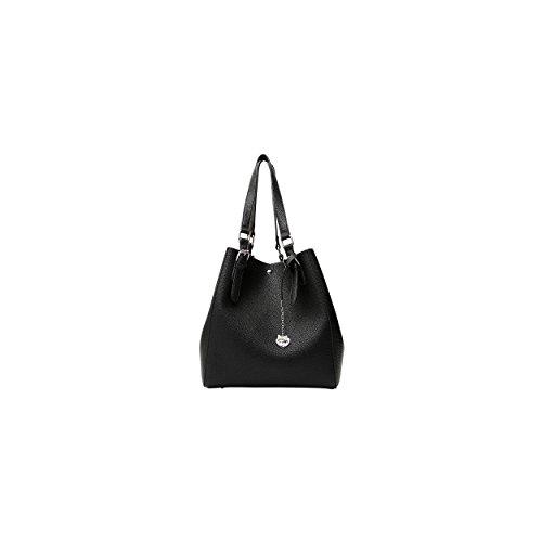 CafèNoir LBGA001 Sac Shopper Femme BLACK TU