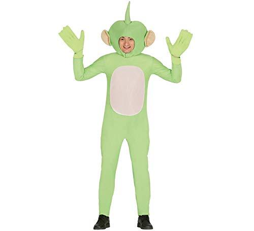 Kostüm Teletubby Für Erwachsene - grüner Alien - Kostüm für Herren Gr. M/L, Größe:L