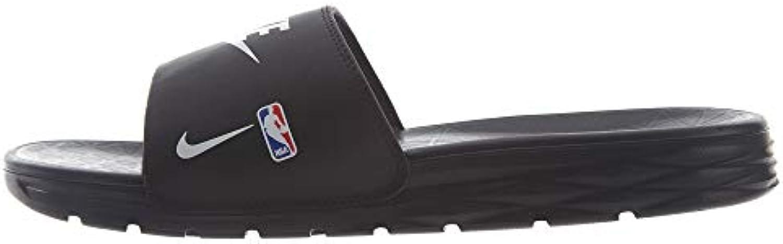 Nike Men's Benassi Solarsoft NBA, nero nero nero bianca Game Royal, 9 M US | Bella arte  befb23