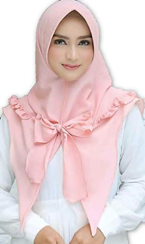 bbd2576ce41 WUBU Nouvelle hijab bonnet casquettes écharpe tête peice burqa châle abaya  pashmina badana chemo jilbab bandeau