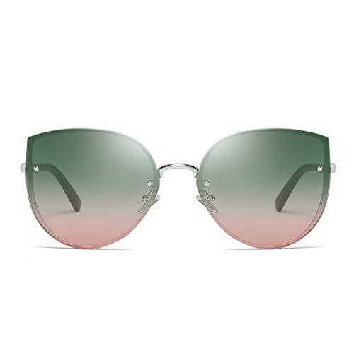 Auifor ☀Mode Mann Frauen unregelmäßige Form-Sonnenbrille-Gläser Vintage Retro Stil