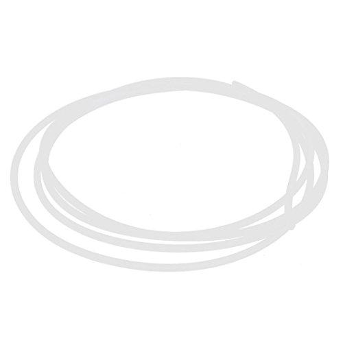2m - SODIAL(R) 2mm ID 4mm OD PTFE Rohrleitung Schlauch Rohr 2M fuer 3D Drucker 1.75mm Filament ()