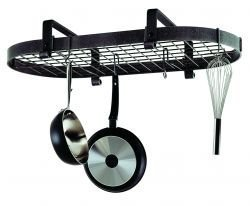 Enclume Oval Pot Rack (Enclume Premier Low Ceiling Oval Pot Rack, Stainless Steel by Enclume)