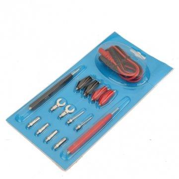 1 komplettes Set Multifunktions-Digital-Multimeter Probe Test Kabel Kabel