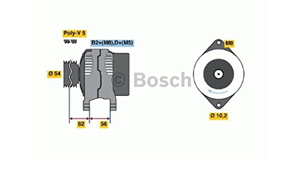 BOSCH 0986046150 Generator