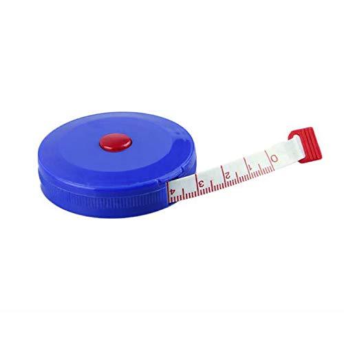 feiXIANG 3 Pcs Bandmass/Schneidermaßband/Maßband/ 150cm, 60 inch Profi Rollmeter Körpermaßband weiches einziehbares Klebeband (Zufällige Farbe, 150cm, 60 inch)