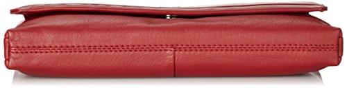 GERRY WEBER Piacenza Clutch, Pochette donna Rosso (Rot (dark red 302))