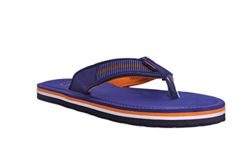 Gliders (from Liberty) Men's Kf-11 Blue Hawaii Thong Sandals - 8 UK/India (42 EU)  available at amazon for Rs.209