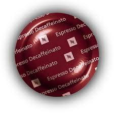 Nespresso Pro Capsules Pods - 50x Espresso Decaffeinato - Original - for commercial machines ...
