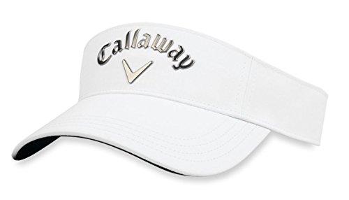 Callaway Liquid Metal Visor Kopfbedeckungen, White/Gunmetal, Einheitsgröße - Gunmetal Bekleidung