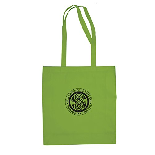 High Council of the Time Lords - Stofftasche / Beutel Hellgrün