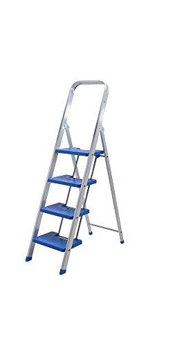 Escalera aluminio peldaño ancho (2 peldaños)