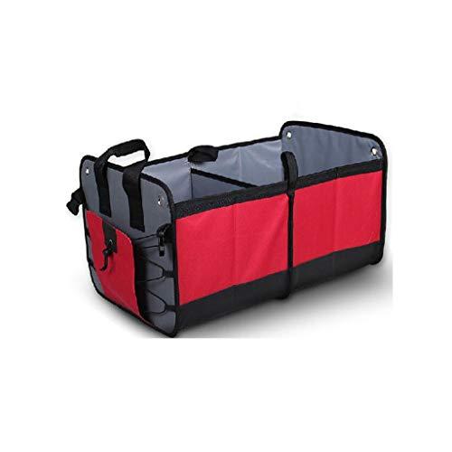 Kofferraum Organizer Cube (HYX Aufbewahrungsboxen, Cube Aufbewahrungsbox mit Griffen, Kofferraum-Organiser mit Riemen , Aufbewahrungsbehälter Körbe für Kleidung Spielzeug DVDs Kunst und Bücher , Kofferraum-Organiser mit Riemen)