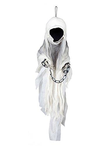 Décoration squelette faucheuse enchainé 100 cm Halloween - taille - Taille Unique - 235539