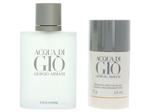 Acqua Di Gio Deodorant Stick (Giorgio Armani Acqua di Gio Pour Homme giftset, Eau de Toilettespray, deo stick, 1er Pack (1 x 175 ml))
