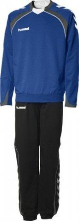 Hummel Anzug (Hummel Herren Trainingsanzug Team Spirit Cotton-Poly, true blue/black, L, 55-118,)