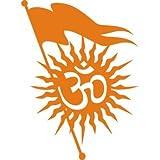 MUNNA STICKER KaaHego Indiashopers Om Logo Hood Bumper Sides Windows, Car Sticker