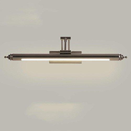 Arbeit Kabinett (YNG Spiegel-Licht führte Spiegel-Frontlicht-Spiegel-Kabinett-Licht-Badezimmer-Moderne Minimalistische Spiegel-Lampe Europäische Toiletten-Badezimmer-Lampe Wasserdicht,Großes Bai-Licht)