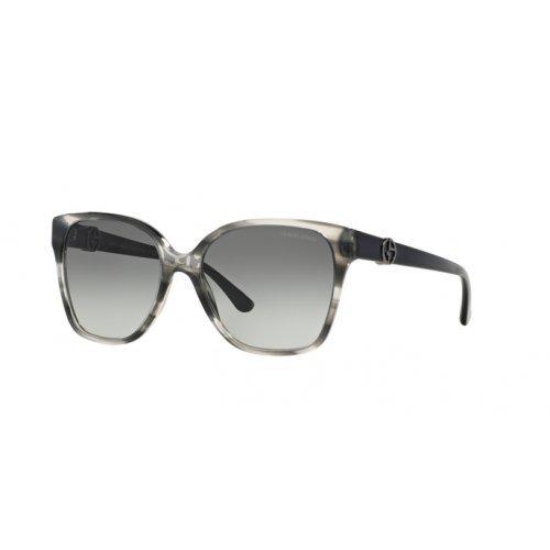 Armani Unisex AR8061 Sonnenbrille, Grau (Grey 520011), One size (Herstellergröße: 56)